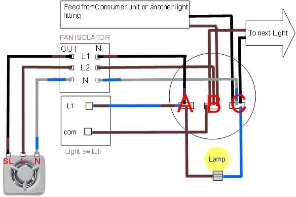 outside light wiring diagram uk single pole switch bath fan heat diagrams | fans