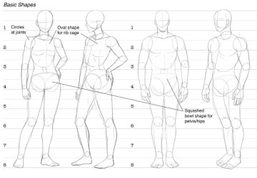 anime draw character down drawing sitting figure reference pose comics comic base body