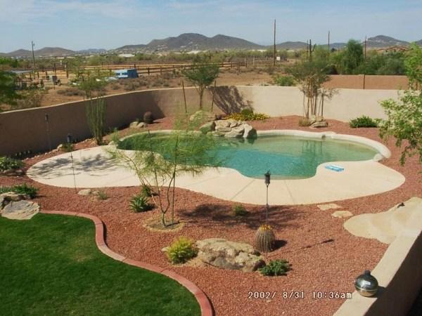 welldone arizona backyard landscaping