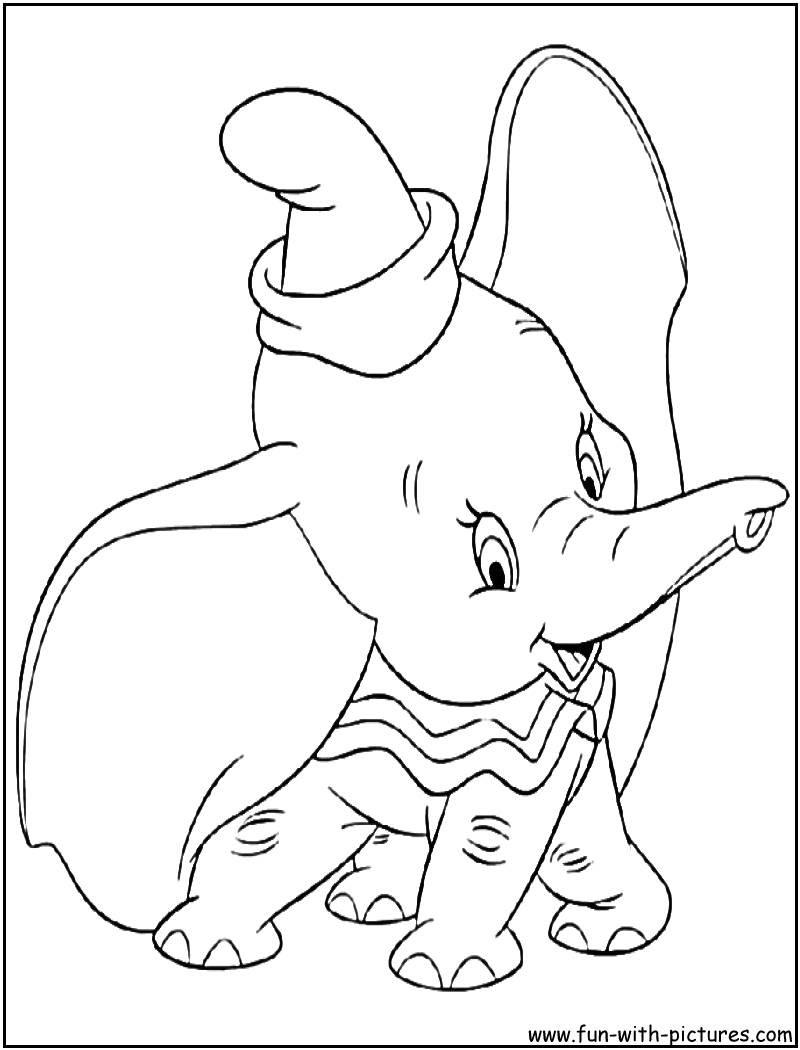 Coloriage Dumbo Pour Enfant 30000 ++ collections de