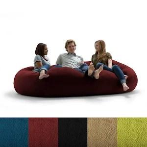 xxl fuf chair computer mat big joe textured ripple red google express
