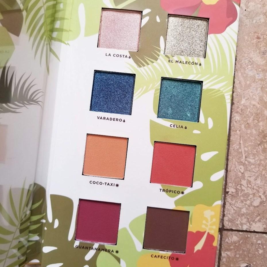 Alamar Cosmetics Reina Del Caribe Eyeshadow Palette Vol 1