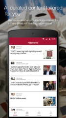 FeedNews: AI curated news app Pour PC Capture d'écran