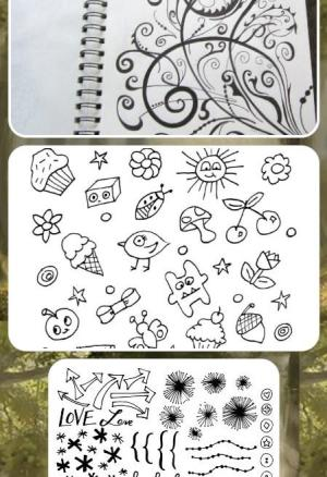 doodles draw simple doodle google doodling fun yourself