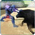 /battle-robot-vs-angry-bull