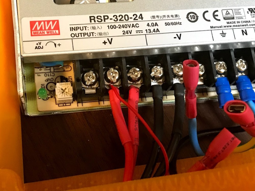 medium resolution of with the power supply fit in you can connect the power switch and ac lines to the iec outlet pay very close attention to the wiring