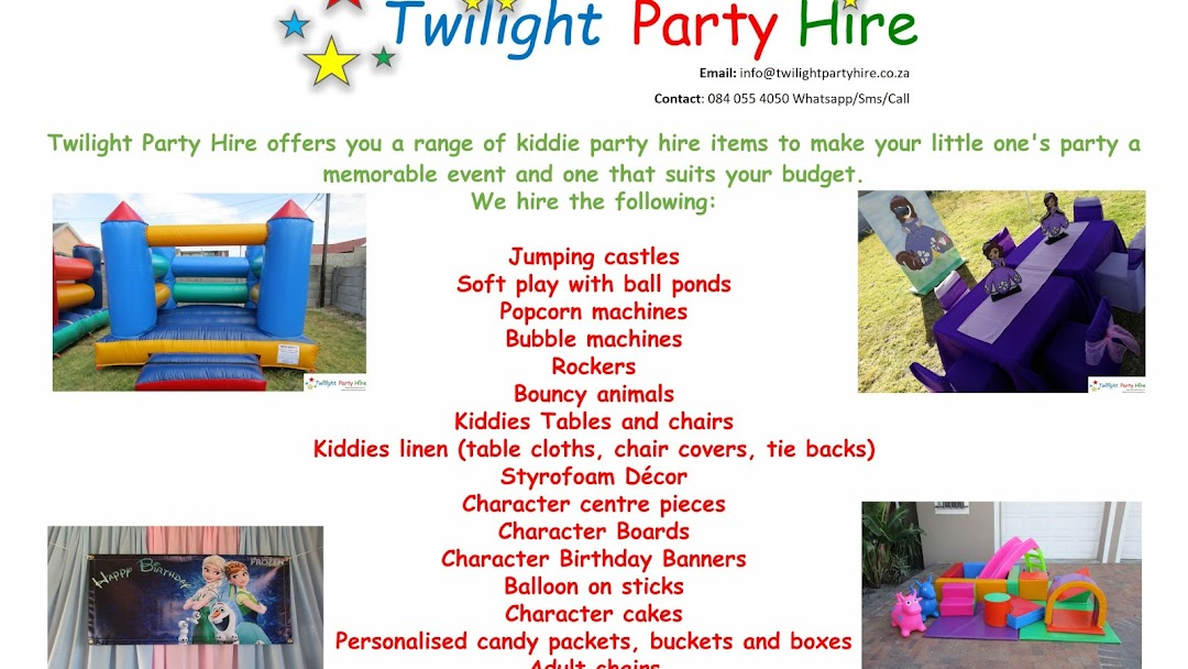 kiddies chair covers for hire plastic outdoor table and chairs bunnings twilight party cape town equipment rental service in header image the site