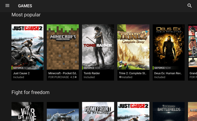 Nvidia Games Android Apps On Google Play