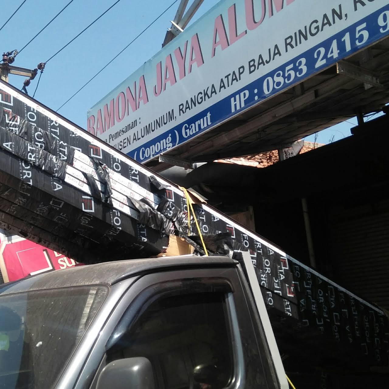 pasang baja ringan garut ramona jaya aluminium menerima pemasangan atap