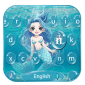 Blue sea water Keyboard Theme icon