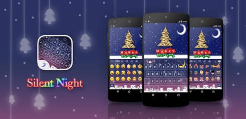 Télécharger Emoji Keyboard Silent Night Pour Pc Gratuit Windows Et Mac
