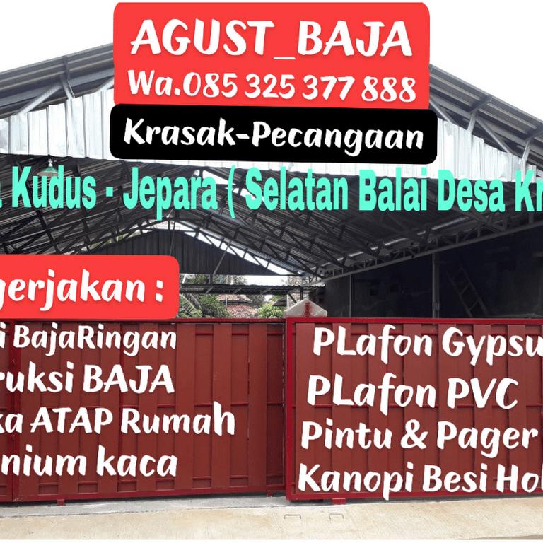 baja ringan murah kudus kabupaten jawa tengah 59313 agust jepara jasa konstruksi dan bangunan