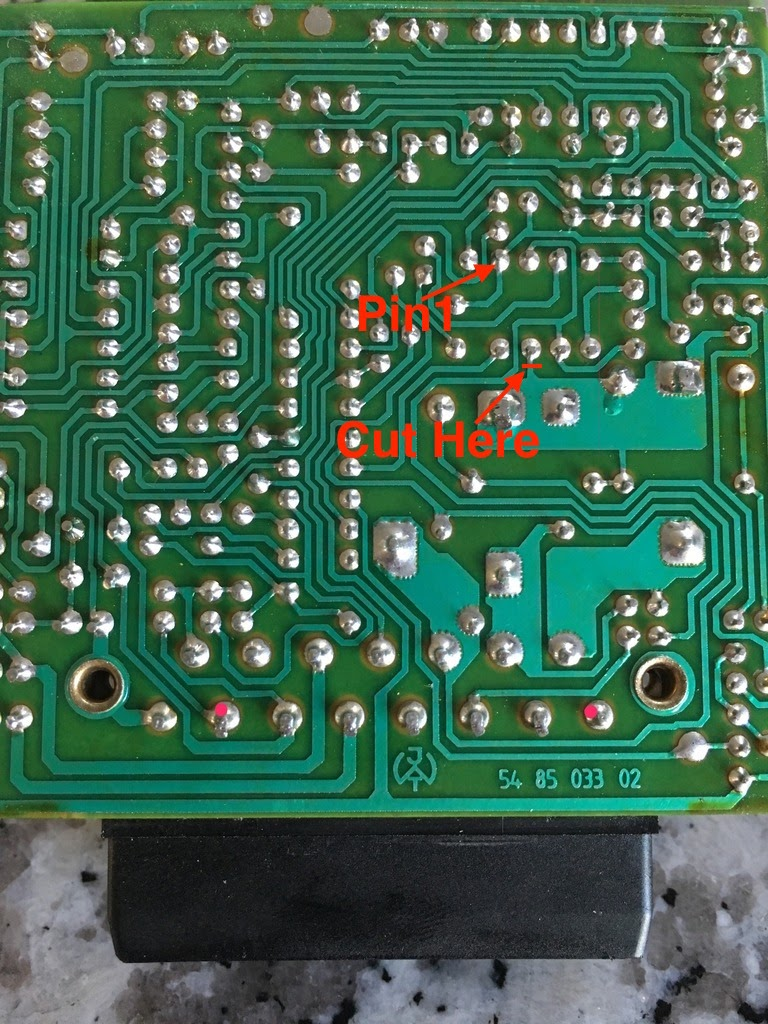 hight resolution of if you have the turn signal relay with the through hole components instead of the smd components the cut this trace