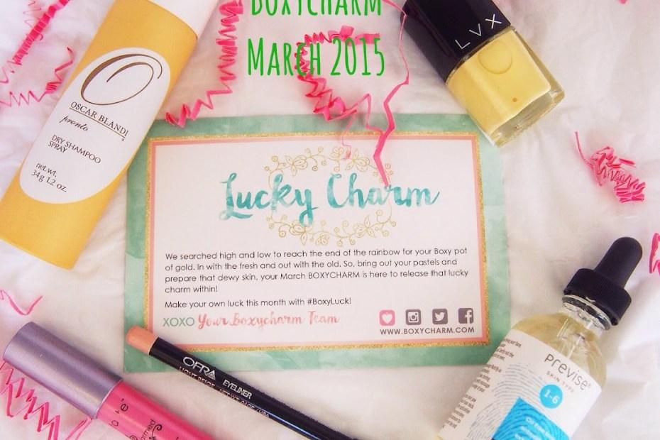 Boxycharm March 2015