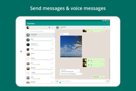 Tablet for WhatsApp APK