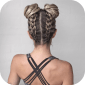 Braiding Hair icon