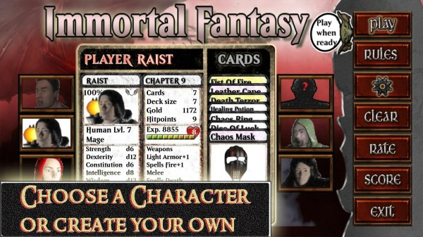 Immortal Fantasy Cards Rpg - Android Apps Google Play