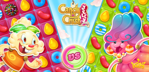 Candy Crush Jelly Saga Pour PC Capture d'écran