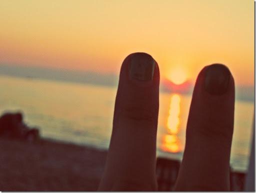 Sunrising peace