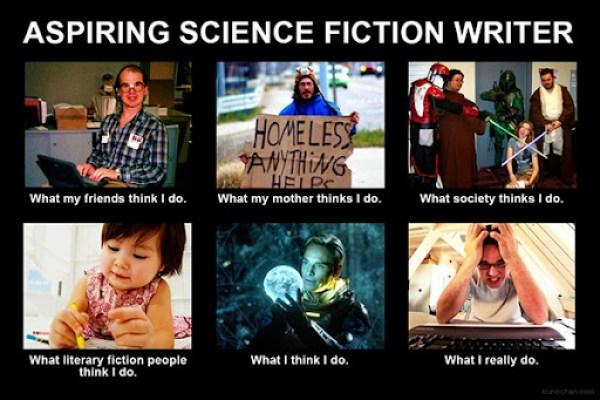 Aspirante a Escritor de Ciencia Ficción