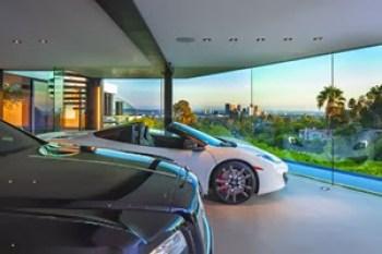 garaje-casa-de-lujo-en-Beverly-Hills-California