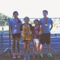 Exitosa participación de atletas parralinos en torneo realizado en Chillán