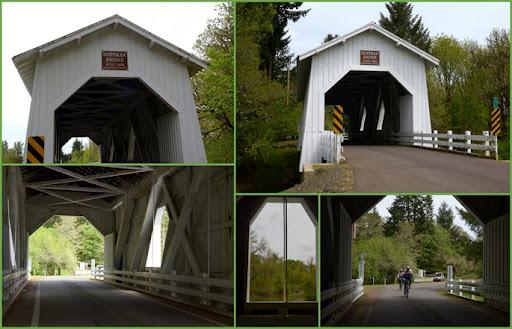 Hoffman Covered Bridge near Crabtree