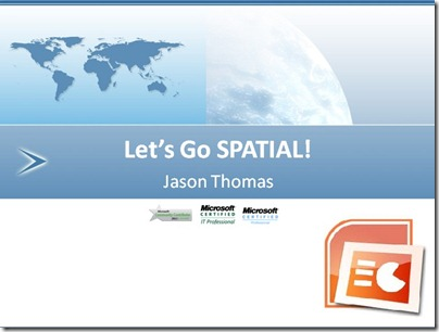 Click to download - Let's go SPATIAL