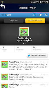 RADIO MEGA BOLIVIA screenshot 2