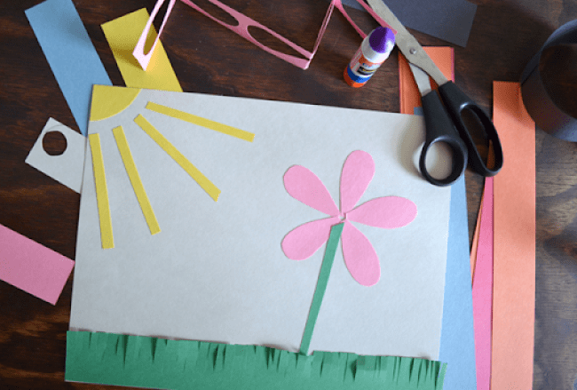 Construction Paper Activities - Rainy Day Approved
