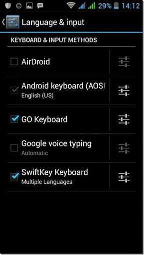 merubah bahasa masukan go keyboard