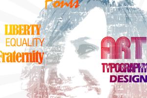 typographic effect
