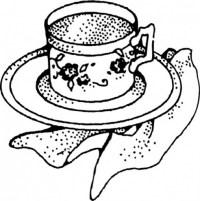 Dibujos Para Colorear De Tazas De Cafe Dibujos Infantil
