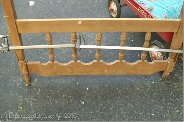 clamps repair headboard