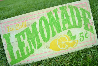 Lemonade Sign 8