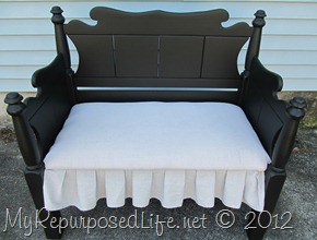 Twin bed-bench upholstered (44)