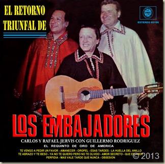 Trío Los Embajadores - El Retorno Triunfal - Front