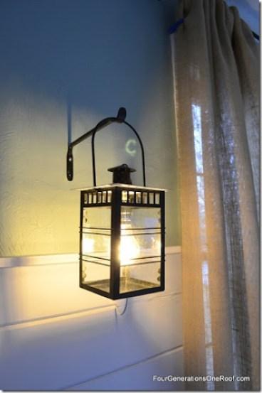 DIY bulb lantern 2