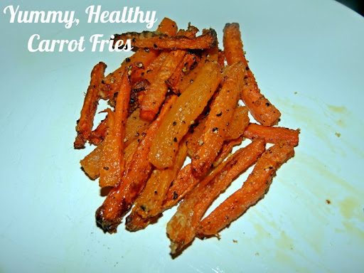 carrot fries recipe 3