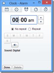 鬧鐘設定 Alarm