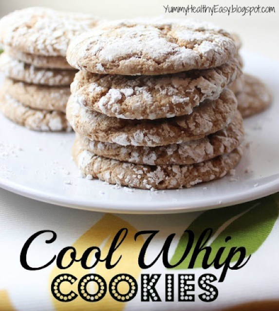 Cool Whip Cookies by Yummy Healthy Easy