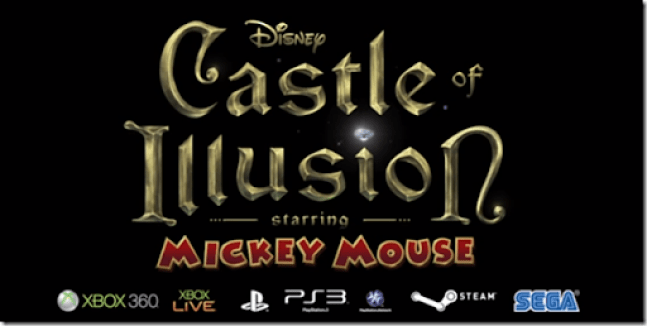 Castle of Illusion: Mickey Mouse