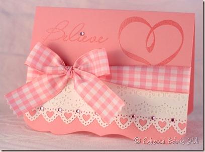 donna believe card