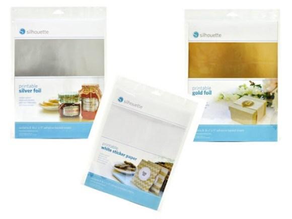 foils and sticker sheet