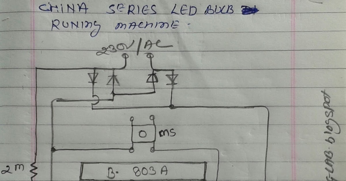 ELECTRIC & ELECTRONICS PROJECT: china series bulbs running