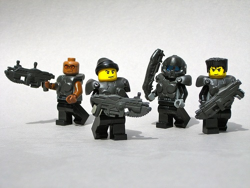 Gears of Wars LEGO