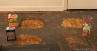 How to remove glued-down carpet - Lovely Etc.