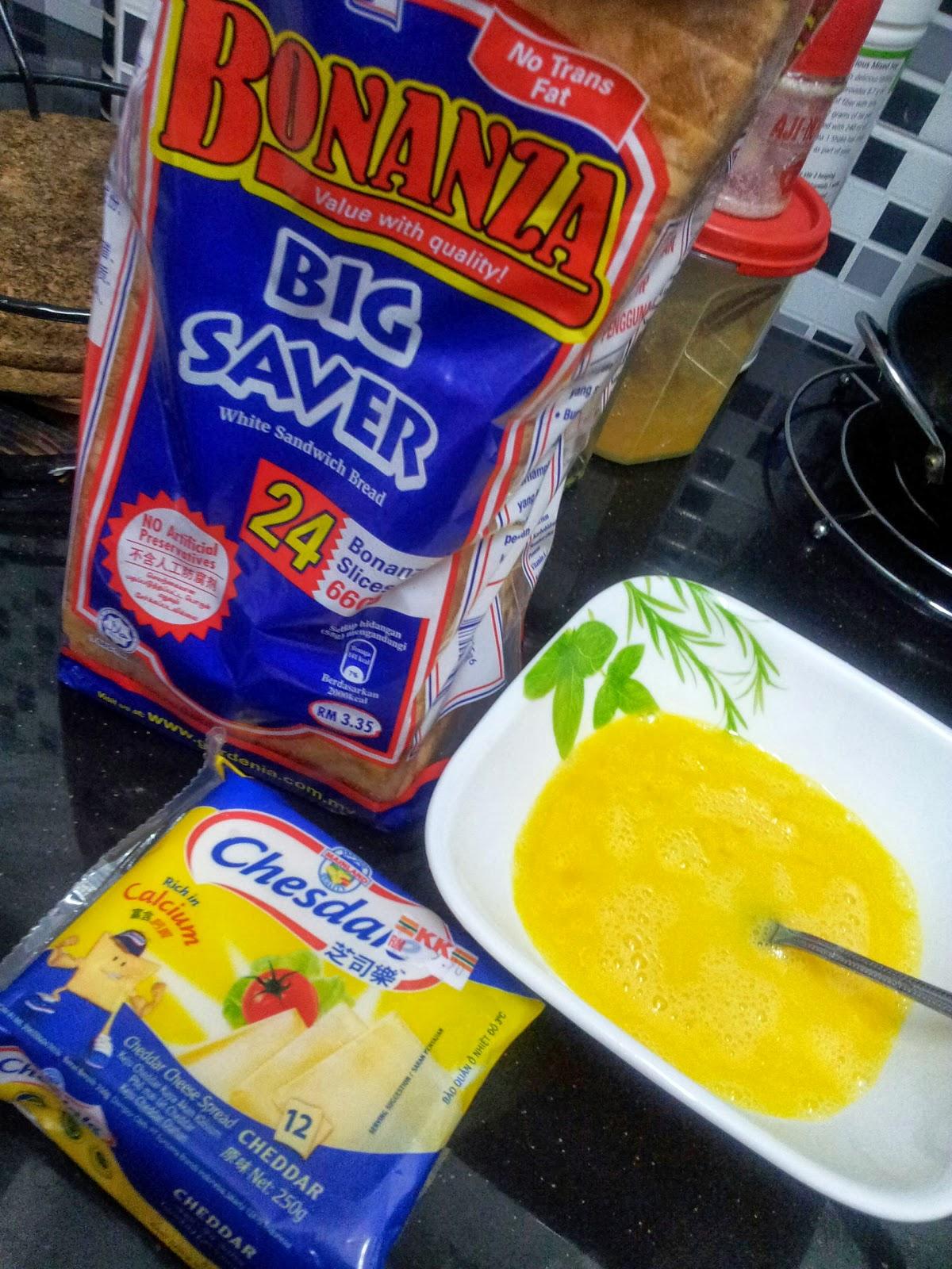 resepi roti telur cheese resepi bergambar Resepi Sardin Black Paper Enak dan Mudah