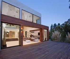 fachada-arquitectura-Casa-contemporánea-Beverly-Hills