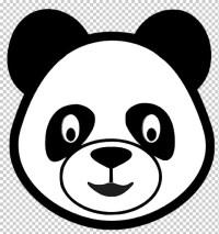 Oso Panda Para Colorear Para Panda Pandas Cara De Oso